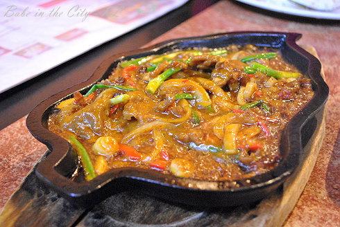 Rosette Cafe - Sizzling venison (RM18)