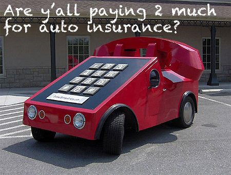 Are you paying too much for your goddamn auto insurance?