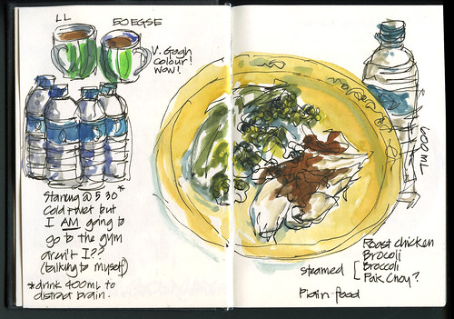 110530_02 Food Diary Monday