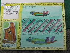 sketchpostcard,JSF,F-35 (reindeer rob) Tags: monk greed jointstrikefighter f35 hansholbein erasmusofrotterdam inpraiseoffolly delofderzotheid sketchpostcards threefreemuseumsinnewcastle