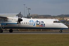 G-ECOK - 4230 - Flybe British European - De Havilland Canada DHC-8-402Q Dash 8 (DHC-8) - Luton - 091022 - Steven Gray - IMG_2761