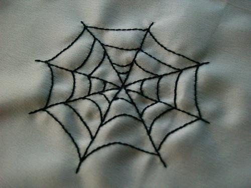 Spiderweb Ornament Step 1