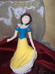 BLANCANIEVE (Bertha Elina Marcano) Tags: masa flexible fria porcelana porcelanicro