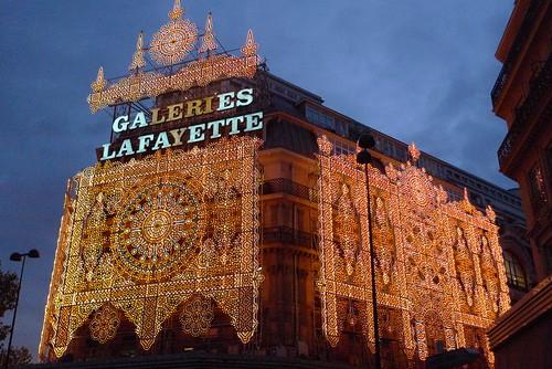 Vitrines Galeries Lafayette - Noël Gourmand 2009