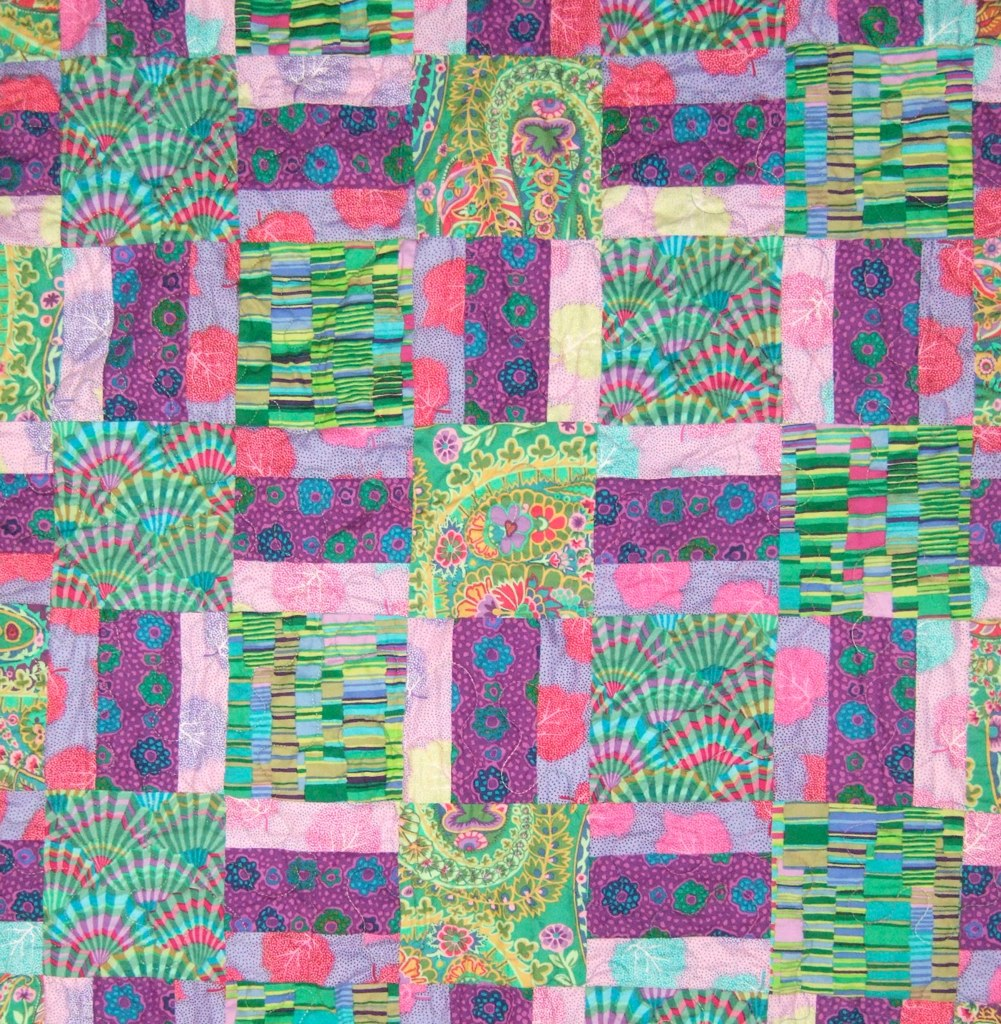 Kaffe Fassett Warm Wishes, closeup