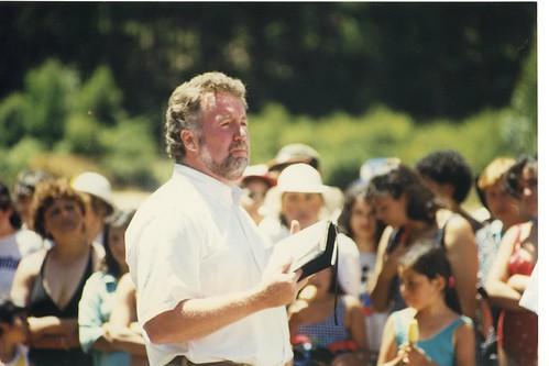 Rick preaching