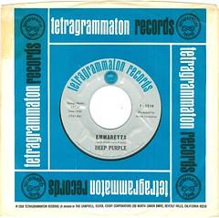 1 - Deep Purple - Emmaretta -  US - 1968-