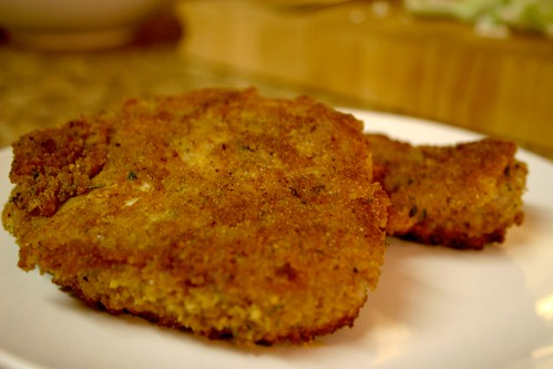 Double Breaded Pork Chops | The Not So Skinny Kitchen
