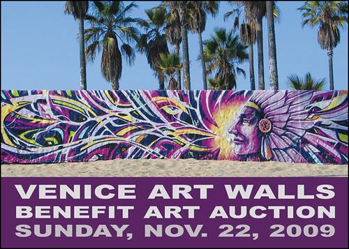 Venice Art Walls Benefit Art Auction 11.22.2009 - Yo! Venice!