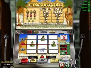 Pharaoh's Gold slot game online review