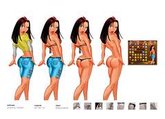 cartoonsex3 (eduardowestin) Tags: woman game sexy girl sex female naked mulher cartoon strip mulheres jogo bunda pelada nua cartum
