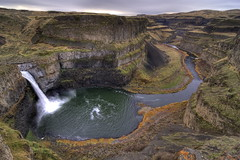 Palouse Falls 23 (nathan_copeland) Tags: nature water canon waterfall stream wa wilderness 2009 hdr palouse palousefalls 40d canon40d