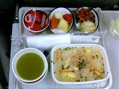 Breakfast, JAL 722