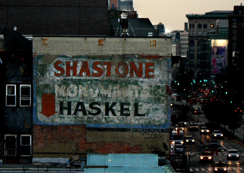 Shastone Monuments by Haskel