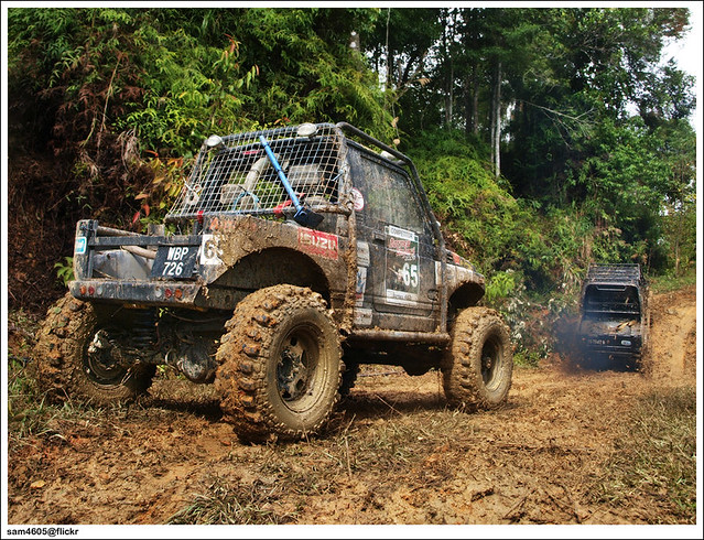 Ranau 4x4 Challenge - Kampung Tagudon Lama Ranau - Suzuki 4x4 Off road