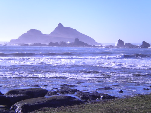 Pebble Beach, Crescent City, CA.