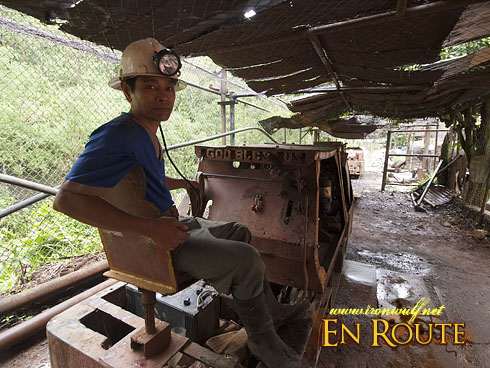 Balatoc Mines Train Driver