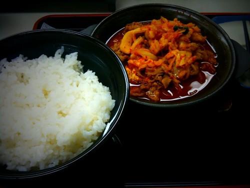 牛チゲ鍋定食