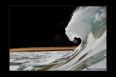 The Curl (yogasurf) Tags: ocean travel beach water hawaii islands surf oahu wave maui kauai hawaiian yogasurf