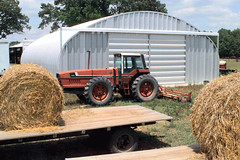 SteelMaster Metal Hay Storage