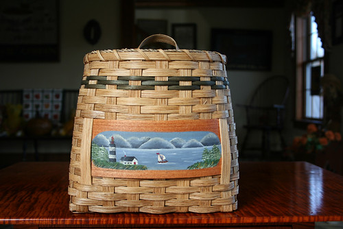 Sheldon Farm Handcrafted Basket a14