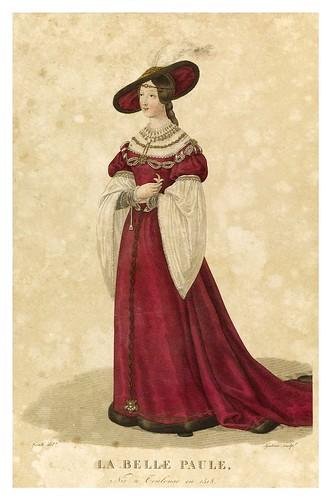 009-La Bella Paula-Galerie Française de femmes célèbres 1827- Louis Marie Lanté