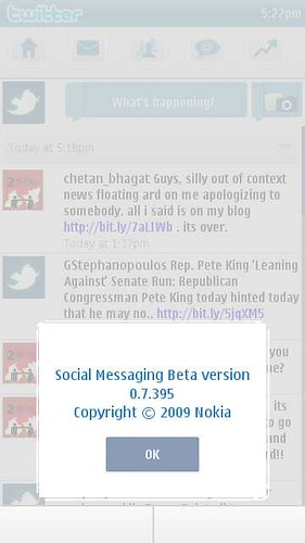 Social Messaging Beta