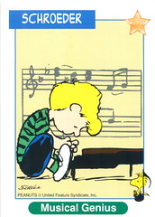 Peanuts MetLife All Star Cards - Schroeder