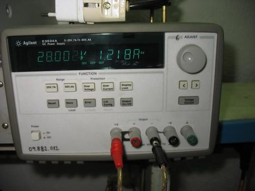Agilent E3634A_01 por Electrónica Pascual.