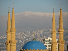 blue domed mosque downtown, mount lebanon 1