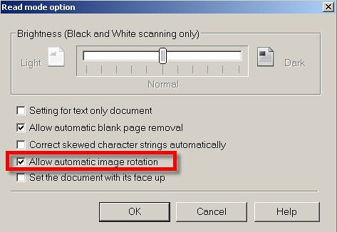Using the Auto Rotate Feature on Your ScanSnap - Fujitsu ScanSnap
