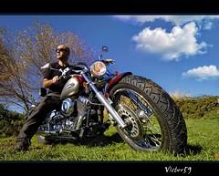 N°100....SirVictor59 (sirVictor59) Tags: italy italia nikond70 moto viterbo lazio ronciglione dragstar motocicle ischiadicastro sirvictor59