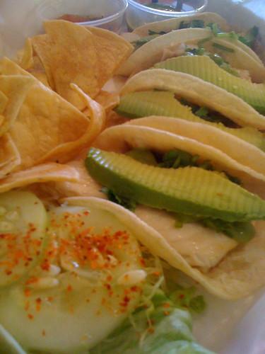 Fish Tacos from Las Tortugas, Memphis, Tenn.