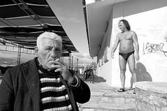 Sea Shots (Costas Lycavittos) Tags: street people bw closeup nikon streetphotography keep gsp d300 keep2 keep3 keep4 keep5 keep6 keep7 keep8 keep9 keep10 nikkor1755 elefsina seashots costaslycavittos
