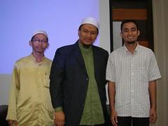 bersama pengasas HPA, Tn Haji Ismail Ahmad