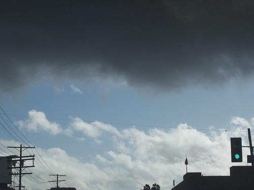 ominous LA sky