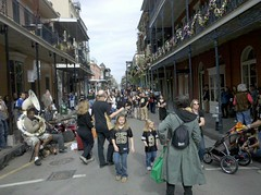 Saints Sunday on Royal Street