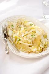 Salade endive et poire