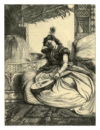 022-La princesa de Bengala-A.B. Hougston-Dalziel's Illustrated Arabian nights' entertainments (1865)