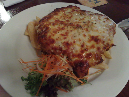 chicken parmagian