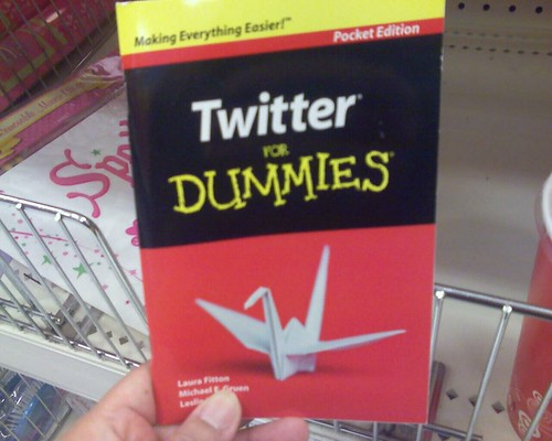 Twitter For Dummies at Target, $1.