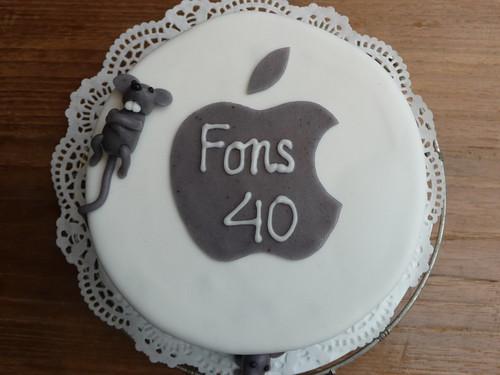 iMac birthday cake