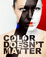 Color doesn't matter (FoTO grAfaNdO) Tags: color girl doesnt social campaign occidentale giapponese photomontages matter fotomontaggio orientale africana trucco modella razze razzismo socialcampaign campagnasociale
