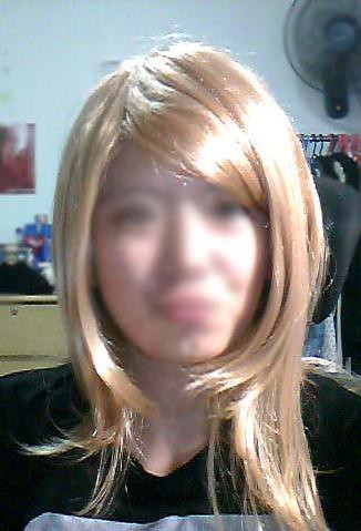 WTS : Kagamine Len Imitation black wig! SHERYL AND ALTO WIG. Bright Red wig 4390238252_0ff284959a