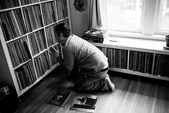 EilonPaz_Eilon_Paz_5260 (dustandgrooves) Tags: portrait music records photography digging vinyl documentary obsession collection soul latin funk hiphop crate collector cratedigger dustandgroove dustgrooves djbongohead
