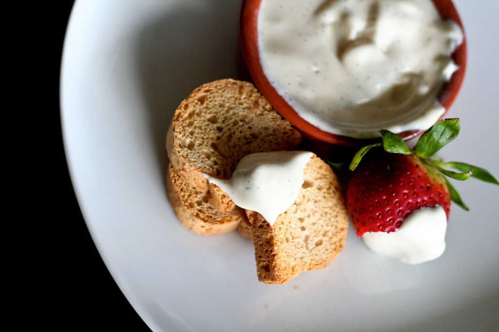 Vanilla Honey Goat Cheese