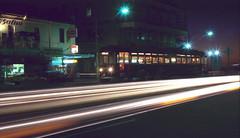 H-class 380 Moseley Sq, Glenelg (railfan3) Tags: old classic vintage square bay twilight metro south australian tram australia timeexposure 350 adelaide 371 glenelg trams atnight trolleys sta moseley streetcars mtt bayline tramcars hclass htype hclasstrams baytram strassenbahnwagen htype1980 htype1970