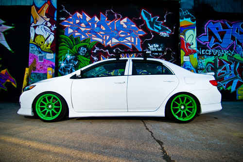 2010 Toyota Corolla Slammed – HD Wallpapers