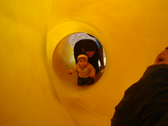 Bella in the tunnel slide (hstnblanca7303) Tags: gonna happen nope