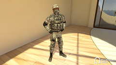 PlayStation Home (SOCOM Camo)